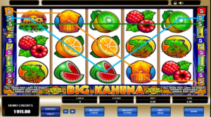 Video slots fruit machine
